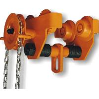 Buy cheap GCL 619 Geared Single Trolley Manual Chain Hoist With Simple And Useful Structure For Mine from wholesalers