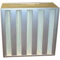China High dust holding capacity V Bank 99.999% efficiency HEPA Box Filters, precision air filters on sale