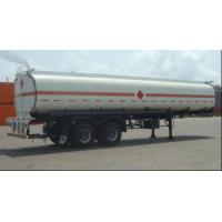 China Customized Petrol Tank Semi Trailer , Gas Tank Trailer ISO Standard on sale