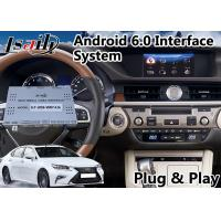 Quality Android Interface GPS Navigation for 2014-2018 Lexus ES 200 Knob Control for sale