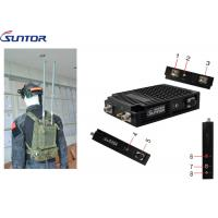 Quality HD Video Surveillance COFDM Transmitter Easy Manpack 2*2 Mimo 40MHz IP MESH UGV System for sale