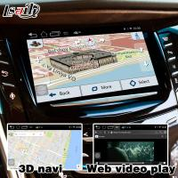 Buy 2 GB RAM Android navigation box video interface for Cadillac Escalade mirror link at wholesale prices