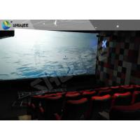 Buy cheap Electric Black / Blue Motion Chair 4D Movie Theater With Simulator System Chair Effect product