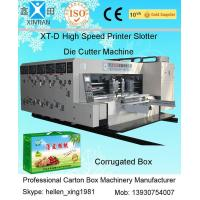Buy cheap High Precision Printing Carton Making Machine With Remote Computer Diagnosis System product