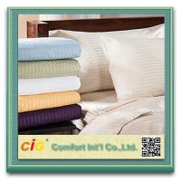 Quality Polyester / Cotton Hotel Cotton Bed Sheet / Bedding Sheets Sets Home Textile Microfiber Printing for sale