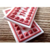 Quality Personalized 3D Rubber Patches For Clothes / Hat Eco - Friendly for sale