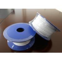 Buy Smooth Expanded PTFE Gasket Tape / One Side Adhesive PTFE Sealing Tape at wholesale prices