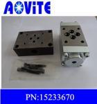 Quality Terex haul truck 3311E direction control valve 15233670 for sale
