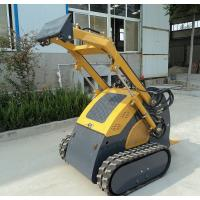China Diesel Engine Mini Skid Steer Track Loader , Hydraulic Breaker Crawler Loader on sale