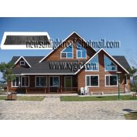 China colorful stone coated steel roofing tile on sale