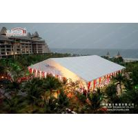 Quality Fire Retardant Tents For Outdoor Events Marquees With Colourful Lining for sale
