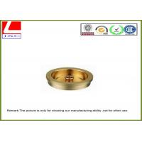 Quality Sandblasting And Nickel Plating Copper Cnc Turning Brass Machined Components for sale