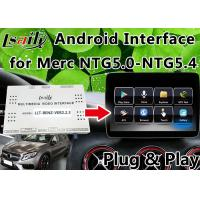 Quality Android 6.0 Mercedes Benz Navigation System , Car Video Interface Support Google Play for sale