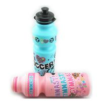 China Reusable Small Water Bottles , Hard Blue / Pink Water Bottle For School on sale