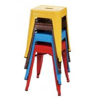 Buy cheap Small Size Metal Event Stool Tolix Dining Chairs in Powder Coating , Yellow Blue Red from wholesalers