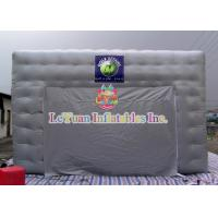 Buy cheap Logo Movable Inflatable Army / Lawn Tent With Silk - Screen Printing product