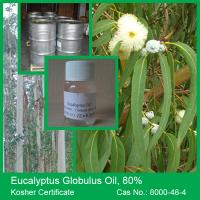 Quality 100% Natural Eucalyptus Globulus Oil 80% for sale