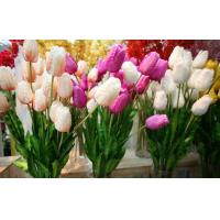 Quality Plastic  Decorative Artificial Flower Stems For Wedding Environmently Friendly Material for sale