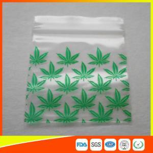 Buy cheap Reclosable Custom Printed Ziplock Bags / Plastic Packing Bag With Zipper product