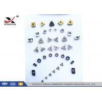 Quality Cermet Indexable Carbide Inserts Full Range For Finishing Machining Steel Material for sale