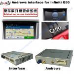 Navigation Video Interface for 2015-2016 Infiniti Q50 Q60 Andorid services, online navigation video play