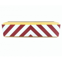 Quality Buzzer Iron Mobile Temporary Vehicle Security Barriers For Road for sale