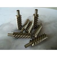 China Steel alloy and brass precision helical worm gear for reducer on sale