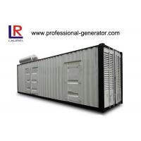 China Self - exciting Container Genset 1200 kw Container Type Silent Diesel Genset on sale