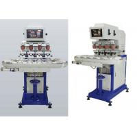 Quality 4 Colors Ink Cup Pad Printing Machine For Sticker / Plastic Cup for sale