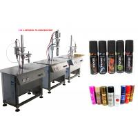 Buy Pepper Spray / Nasal Spray Filling Machine With Pneumatic Power Type at wholesale prices