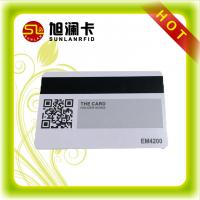 Quality RFID Chip Card Fudan S50  S70 for Plastic Loyalty Card with Magnetic Strip for sale