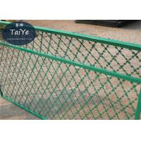 China High Security Welded Razor Wire Mesh Straight Blade Razor Ribbon Fencing on sale