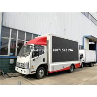 Quality Outdoor Full Color P4 P5 P6 Mobile Truck LED Screen Advertising Display for sale