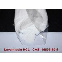 Quality Levamisole Hydrochloride Levamisole Pharmaceutical Steroids HCL CAS 16595-80-5 for sale