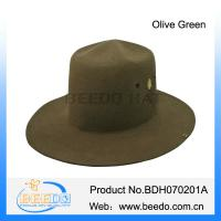 China Hot selling rabbit fur flat top military officer cap for adults on sale