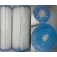 "Standard Pleated Filter Cartridge 10"" (water filter, water purification)"
