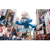 Buy cheap Smurfs Shape Giant Advertising Balloons Outdoor 0.18mm PVC material product