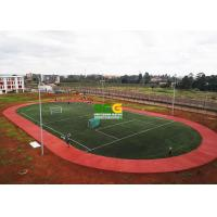 Quality Sandwich PU System Running Track Construction Project Case In Kenya for sale
