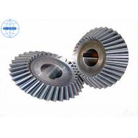 Quality Industrial Stainless Steel Straight Bevel Gears With Chrome Plating / Helical Bevel Gear for sale