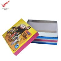 Quality Eco Friendly Material Mdf Wooden Box Recyclable With Gold Foil Logo for sale