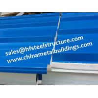 China Chinese Design EPS Sandwich Panels For Walk In Cold Room 1150 Width on sale