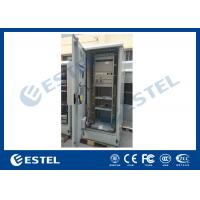 Buy Standard Industrial Outdoor Telecom Cabinet , Outdoor Electrical Cabinet With Rectifier System at wholesale prices
