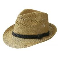 China summer paper straw hat unisex on sale