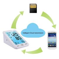 Buy cheap Home blood pressure testing equipment digital GPRS blood pressure monitor upper arm product