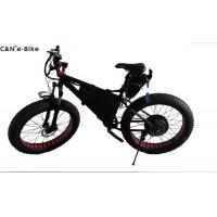 Buy Brushless Motor Fat Tyre Wheel Electric Snow Bike With Huge Tires Alloy Frame at wholesale prices