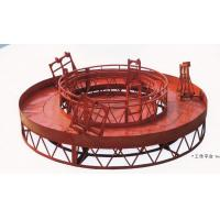 Quality Red Rounded Lifting Powered High Working Rope Suspended Platform for Building Maintenance for sale