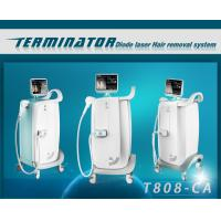 Quality 808nm Wavelength Diode pain free laser hair removal machines , hair removal laser equipment for sale