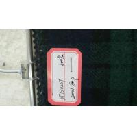 Quality One Sided Green Tartan Fabric20% Wool , Scottish Plaid FabricWith Horizontal / Vertical Line for sale