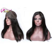 Quality 8 - 28 Silky Straight Natural Human Hair Lace Front Wigs 100% Human Hair Wig Can Adjustable for sale