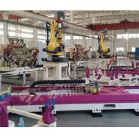 Quality Pink Welding Industry Robot 7 Axis , High Precision Robot Linear Track for sale